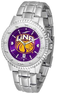 Mens North Alabama Lions - Competitor Steel AnoChrome Watch