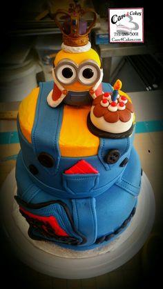 Birthday Minion with King Bob Character