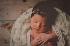 """Valerie""  Australian photography prop dried flower tieback newborn baby sitter maternity wedding bridal vintage flower girl"