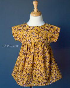 PiePie Designs: FREE Girl's Shirt Pattern: The Izzy Top