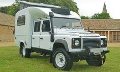 Land Rover Defender 130 Overlander Pop-Up Camper -