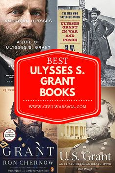 There has been a surge in new books about Ulysses S. Grant in recent years as Grant's reputation slowly recovers after being pummeled throughout the century. Although Grant was very popular New Books, Good Books, Books To Read, American Civil War, American History, Presidents Book, Ron Chernow, Ulysses S Grant, Civil War Books