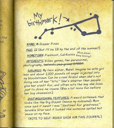 Gravity Falls Book, Libro Gravity Falls, Gravity Falls Journal, Dipper And Mabel, Dipper Pines, Journal 3, Journal Pages, Grabity Falls, Tag Art