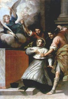 The Martyrdom of Saint Pedro de Arbués by Antonio del Castillo y Saavedra.