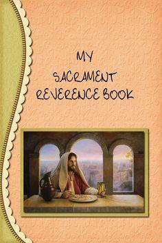 Dora's Digitals: My Sacrament Book FREE 27-page download!