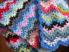 Ravelry: Lesianne's Yarn - Vintage Crocheted Blanket #3