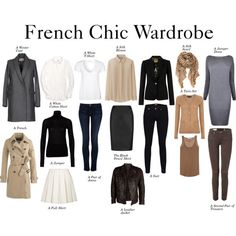 "Step One - French Chic Wardrobe"" by charlotte-mcfarlane on . Outfit Generator, Mode Outfits, Fashion Outfits, Womens Fashion, Fashion Tips, Teen Fashion, Workwear Fashion, Fashion Trends, Latest Fashion"