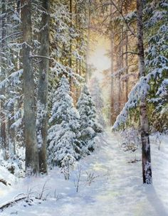 Stonebridge by Kathy Glasnap Stone Bridge watercolor art Watercolor Landscape, Landscape Art, Landscape Paintings, Winter Szenen, Winter Magic, Painting Snow, Winter Painting, Snow Art, Watercolor Pictures