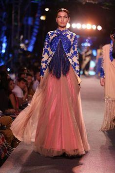soooo pretty   Manish Malhotra's WEvolve Blue Collection {Lakme Fashion Week 2015} - Gallery