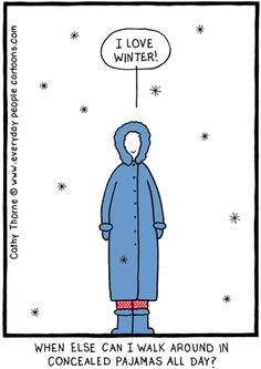Concealed pajamas > by Cathy Thorne > Everyday People Cartoons