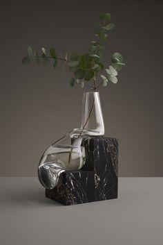 Indefinite Vases  http://mindsparklemag.com/design/indefinite-vases/ #vase #productdesign #marble