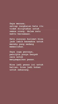 Reminder Quotes, Self Reminder, Deep Talks, Self Quotes, Quotes Indonesia, Tumblr Quotes, Quote Aesthetic, Love You More, Cute Quotes