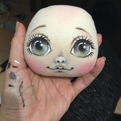 1 million+ Stunning Free Images to Use Anywhere Doll Face Paint, Doll Painting, Fabric Painting, Tiny Dolls, New Dolls, Soft Dolls, Doll Clothes Patterns, Doll Patterns, Doll Eyes
