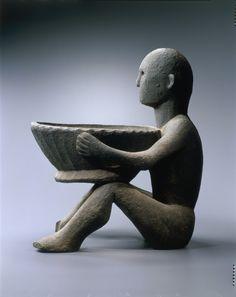Bulul - Philippine Deity, guards the rice crop Vietnam, Filipino Art, Philippine Art, Cultural Artifact, Philippines Culture, Clay Ornaments, Indigenous Art, Ocean Art, Modern Artwork