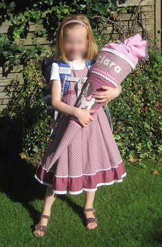 Fadenland: Einschulungskleid: Kombination aus Elodie und Empi...