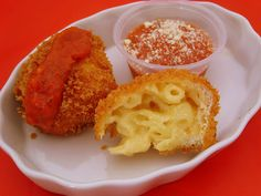 Fried Mac and Cheese.