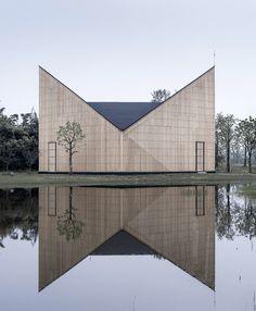 AZL Architects - Garden chapel, Nanjing 2015.