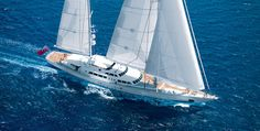Felicità West : The largest and fastest aluminium sailing yacht in the world