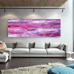 Abstract Painting On Canvas-Gallery Wall Art Modern Oil image 1 Modern Oil Painting, Large Painting, Abstract Wall Art, Abstract Paintings, Original Paintings, Bedroom Paintings, Original Art, Office Wall Art, Home Wall Art