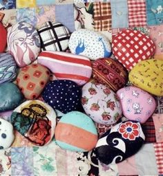 painted rocks by AOI