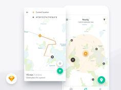 Harmony UI Kit - Map by Dawid Młynarz