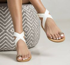 """Bohemian sandals """"Forsythia"""". Ideal women shoes for summer! Made with genuine leather. Slip resistant sole. Designed to last"""