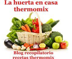 Recopilatorio de recetas thermomix: La huerta en casa con thermomix (Recopilatorio)