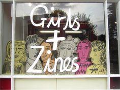 girls & zines via thatslogiczine.blogspot