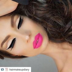 What a doll!…😘😘😘 ・・・www.rc-cosmetics.com This makeup is on FLEEK! 💗💎 by @nikkifrenchmakeup. HAPPY FRIDAY EVERYONE! 😘
