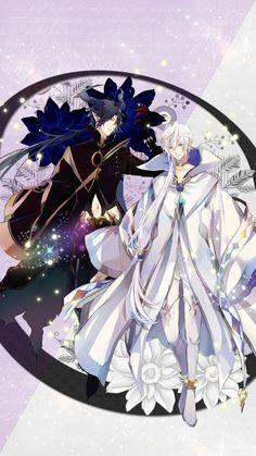 Demon King Hajime and White Demon King Shun Ship! Character Art, Character Design, Tsukiuta The Animation, Mobile Legend Wallpaper, Handsome Anime Guys, Anime Oc, Cute Anime Couples, Anime Art Girl, Otaku