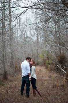 Rustic Engagement  Whitney + Ryan: Engaged  Photo By Michelle Renee Photography