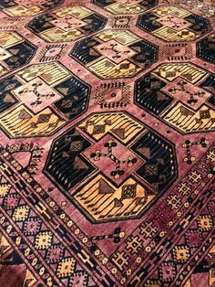 just in....one-of-a-kind vintage Afghan rugs curated from a private collection, exclusively in-store & online @ abc