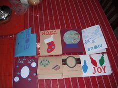 Christmas cards, 2013