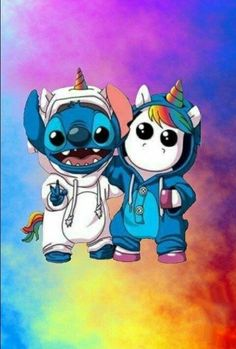 Stitch et licorne💜 disney wallpaper, unicorn wallpaper cute, unicorns wallpaper, rainbow wallpaper Unicornios Wallpaper, Disney Phone Wallpaper, Cartoon Wallpaper Iphone, Rainbow Wallpaper, Cute Cartoon Wallpapers, Iphone Backgrounds, Iphone Wallpapers, Wallpaper Quotes, Wallpaper Fofos