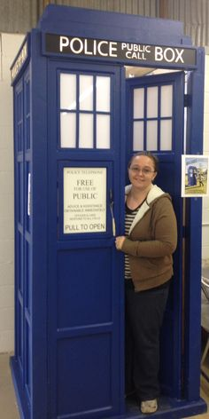 """I walked into my local county fair and saw the TARDIS and yelled, """"I'm ready to go with you Doctor!"""""""