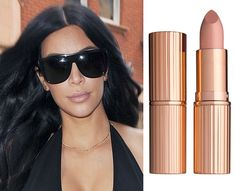 Happy Birthday Kim Kardashian! See 5 of Her Best Nude Lip Moments This Past Year - Street Style from InStyle.com