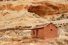 Capitol Reef National Park 1800's house.