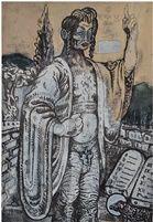 jesus in bethanien by marc gröszer, 2012