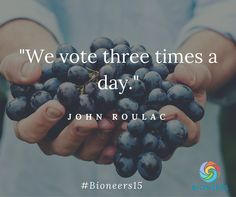 Food Democracy and the Fight to Label GMOs kitchen.nutiva.com John Roulac Quote