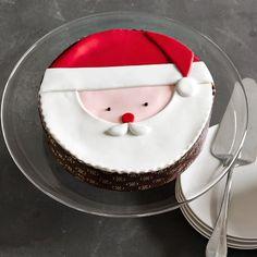 Santa Cake #williamssonoma