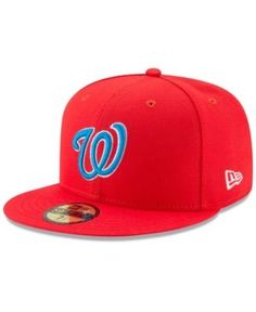 New Era Washington Nationals Players Weekend 59FIFTY Fitted Cap - Red 7 3/4