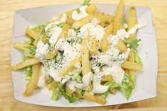Caesar Salad Fries Recipe