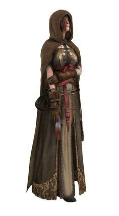 Dark Souls 2 NPC 緑衣の巡礼