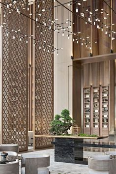otel Mondrian Doha, opened in October 2017 in the city's West Bay Lagoon neighbourhood, brings the up-all-night intensity, energy, and Sunset Strip vibe of the original Hollywood Mondrian to the West Bay Lagoon neighbourhood of Doha, the capital city of Qatar. #bocadolobo #luxuryfurniture #lightingideas #interiordesign #designideas #modernroom #homedecor #interiordesigninspiration #luxuryinteriordesign #interiordesignstyles #inspirationfurniture #hoteldesign Design Hotel, Design Entrée, Design Ideas, Interior Design Minimalist, Luxury Interior Design, Interior Architecture, Boutique Hotels, A Boutique, Boutique Design