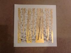 "Hajime Namiki ""Golden Tree"" Japanese Woodblock Print | eBay"