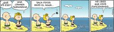 Snoopy in Spanish. Links to other comics too. A fun way to practice reading.