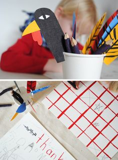 turkey DIY and placemat downloads
