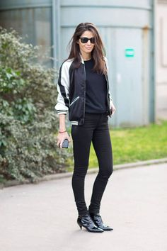 The bomber jacket _ Barbara Martelo #StreetStyle