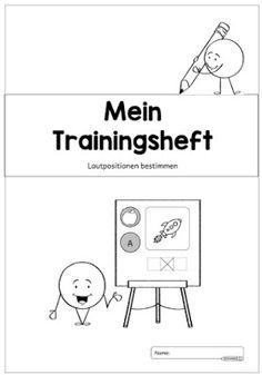 """Ideenreise: Trainingsheft """"Lautpositionen bestimmen"""""""