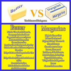 Butter vs Margarine Which is Healthier